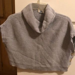 Other - Turtleneck sweater poncho